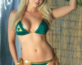 80738157f0 Zelda tri bikini
