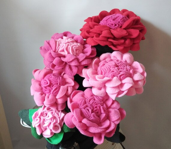 Princess Pinks Ladies Flower Set Of 6 Golf Club Head Covers Etsy