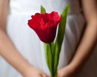 Crepe Paper Tulip