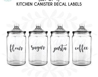 Glass jar label | Etsy