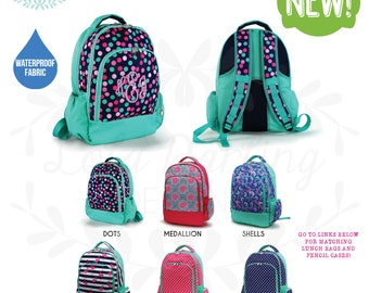 bfafbb152a Monogram Backpack  Diaper Bag  Sports Bag  Bookbag   Book bag
