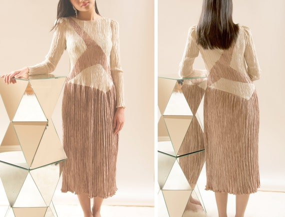 Vintage Pleated Mary McFadden Dress