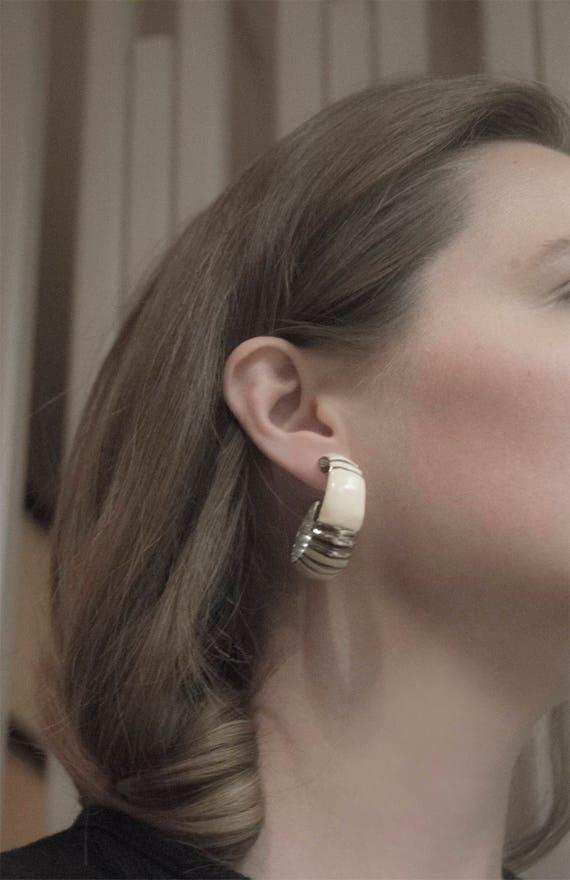 Vintage Hoop Earrings by Etsy