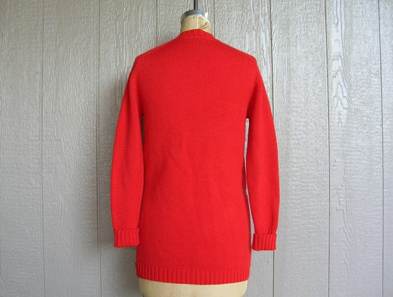 Vintage 70s COZY CABIN CHIC Knit Cardigan and Pan… - image 9