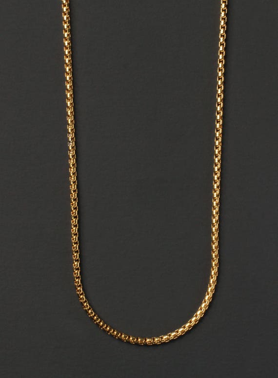 Minimalist Jewelry For Men Men S Necklace Gold Chain Etsy