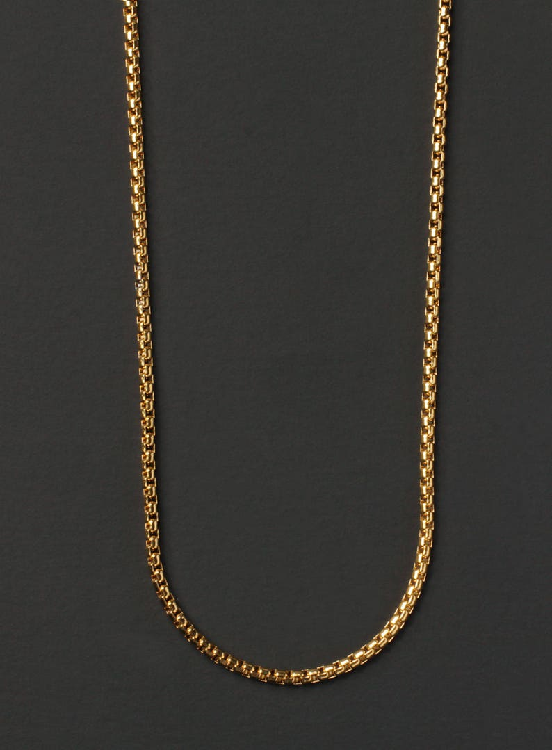 e25034e470308 Minimalist jewelry for men - Men's Necklace - Gold chain necklace for men -  Mens Jewelry - Gold chain - Gold necklace - Gold jewelry for men