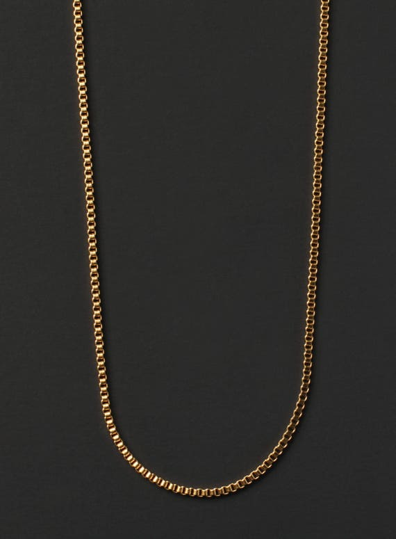 Minimalist Jewelry For Men Sleek Gold Chain Necklace For