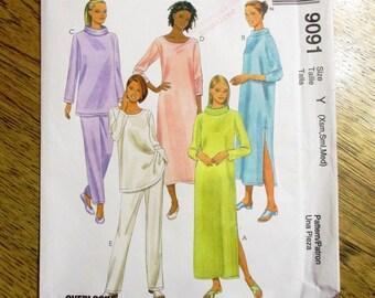 9b24ed521c COMFY Loungewear  Pajama Dress with Cowl Collar   Romper