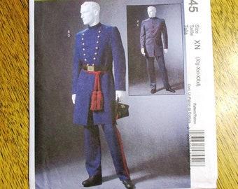 Star Trek Generations 19th Century Navy Uniform Cosplay Costume Custom Made AA