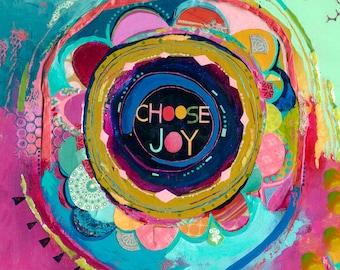 choose joy : love note