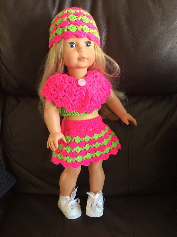 Doll Halter Top Free Crochet Pattern - Right Handed - YouTube | 760x570