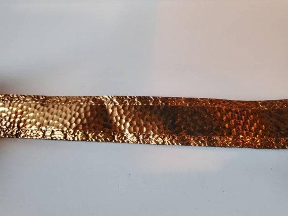 Vintage belt copper Art Nouveau, 1950's - image 8
