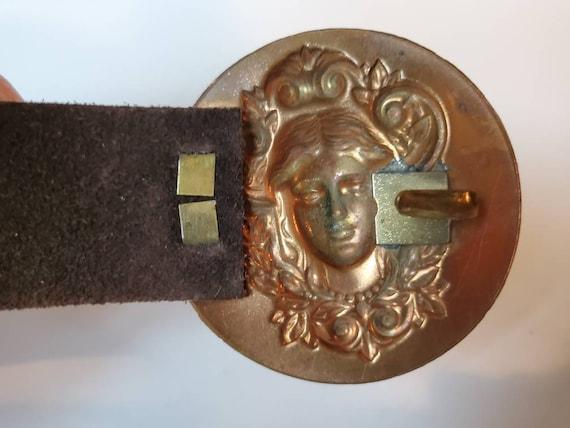 Vintage belt copper Art Nouveau, 1950's - image 4