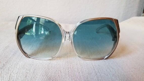 Designer sunglasses YSL large frame, 1970s
