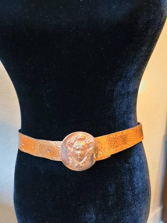 Vintage belt copper Art Nouveau, 1950's - image 5