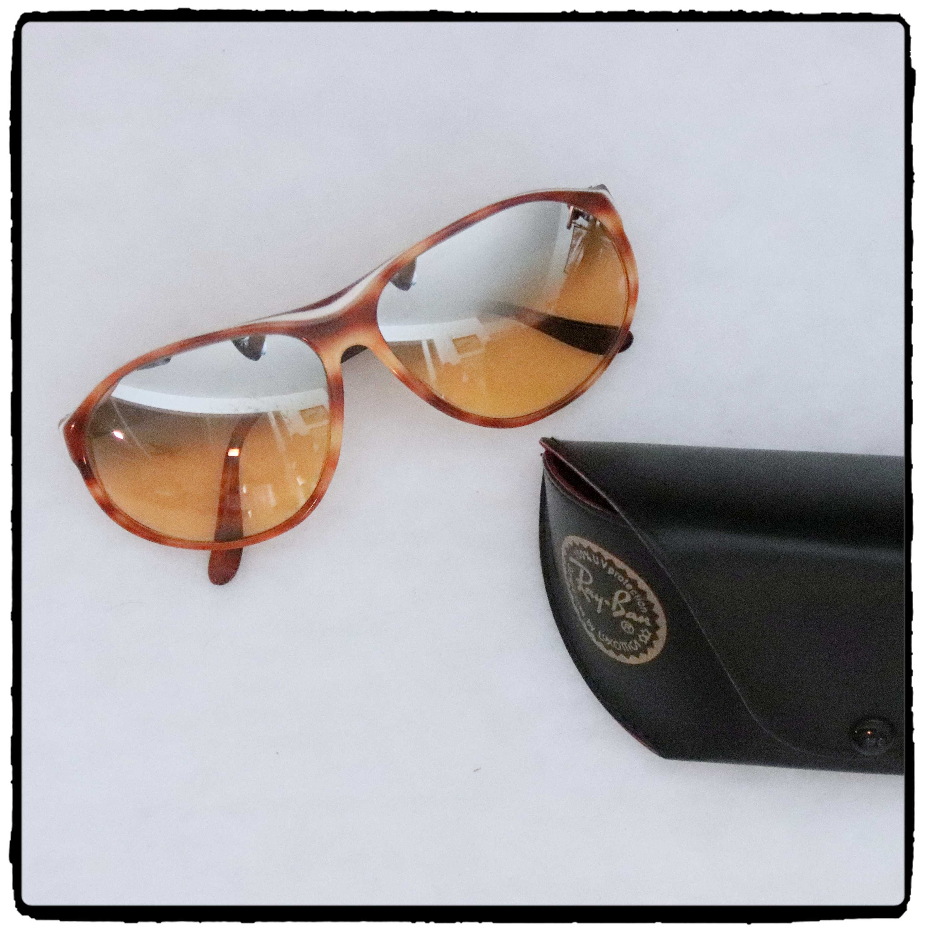 f40dc0121a2ff Vintage Bausch   Lomb Ray Ban Arcadia Mirror Gradient Tortoise