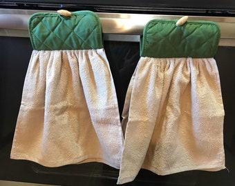 Hanging Kitchen Hand Towel, set of 2