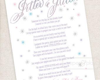 photo regarding Jitter Glitter Poem Printable known as Jitter glitter Etsy