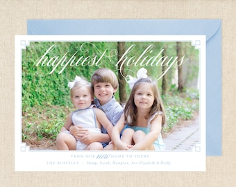 Moving Announcement Christmas Card