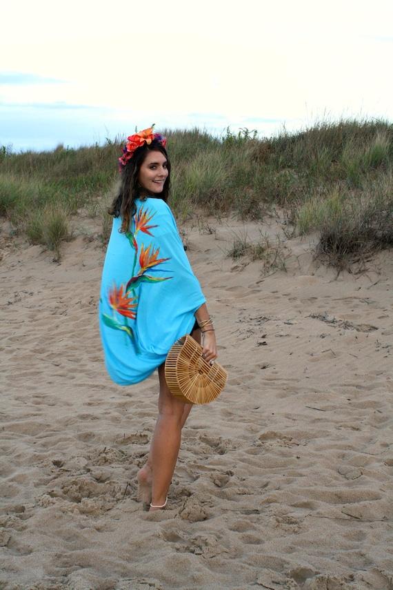 ff070d7227 The Tides Kimono in Paradaiso Beach wear Swim cover up