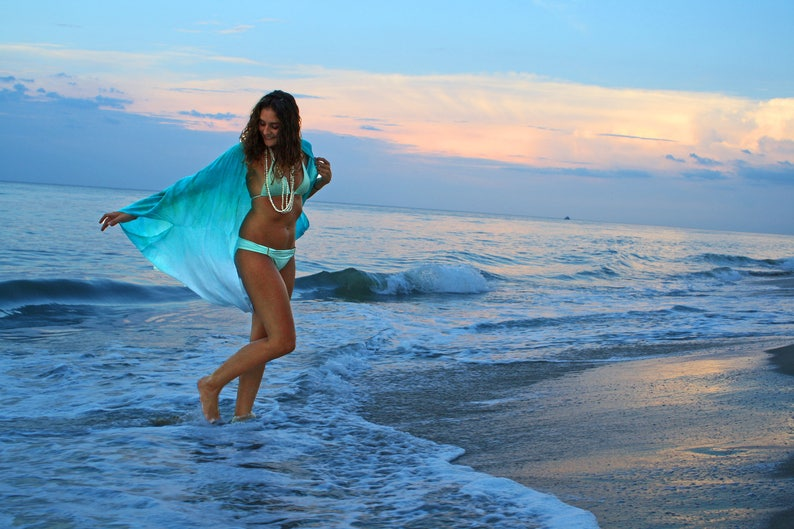 1ae87e1928 The Tides Kimono in Mediteranean Sea Beach wear Swim cover