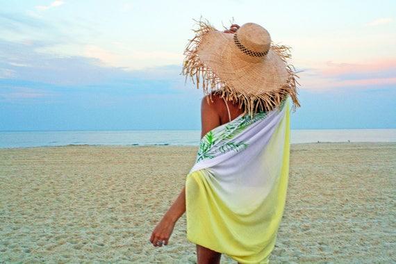 d21d03b84a The Tides Kimono in Cabana Beach wear Swim cover up Beach