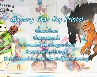 Mystery Grab Bag Prints!