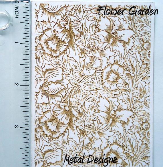 Dandelion Fluff Rolling Mill Pattern Laser Cut Texture Paper