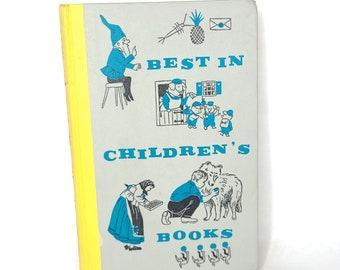 Vintage 1958 Best in Children's Books - Nelson Doubleday