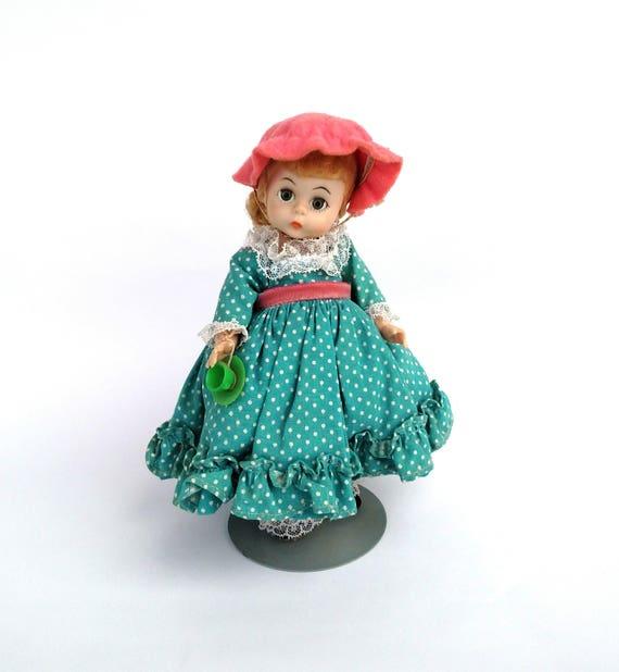 Vintage 1960's Madame Alexander Miss Muffet Doll