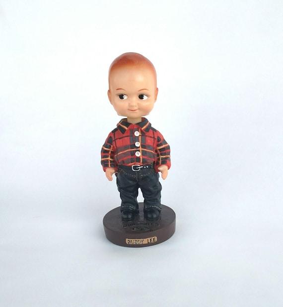 Vintage Buddy Lee Bobble Head Figurine Lee Dungarees