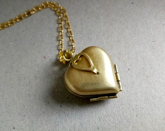 Four Way Locket Graduation Folding Heart Locket Graduation Heart Locket Necklace,Clover Locket Necklace,Multi Photo Locket Clover Locket