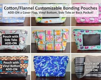Bonding Pouch Plaid Flannel