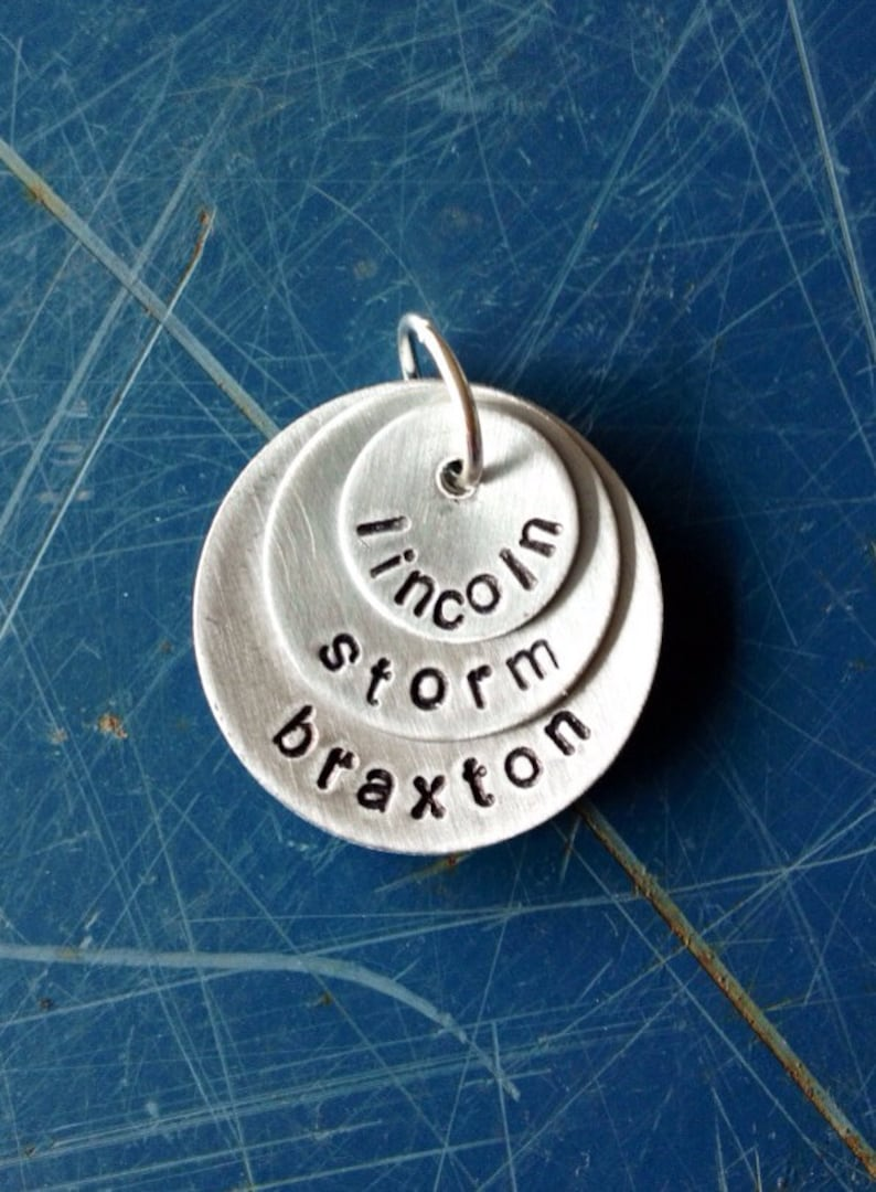 Grandma Name charm for your DIY  jewelry project gift for Mother/'s day Layered charm