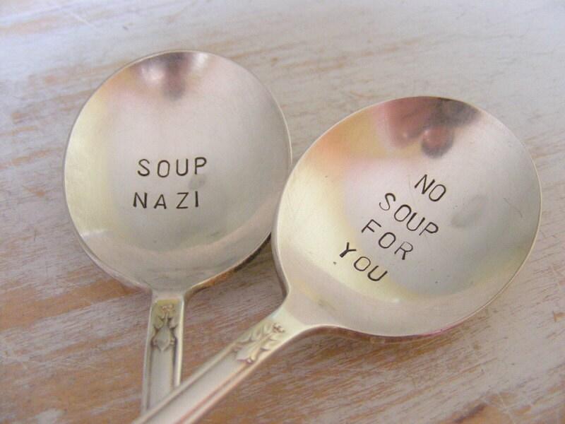 Nazi Suppenlöffel legen keine Suppe für Sie Suppe Löffel Set   Etsy