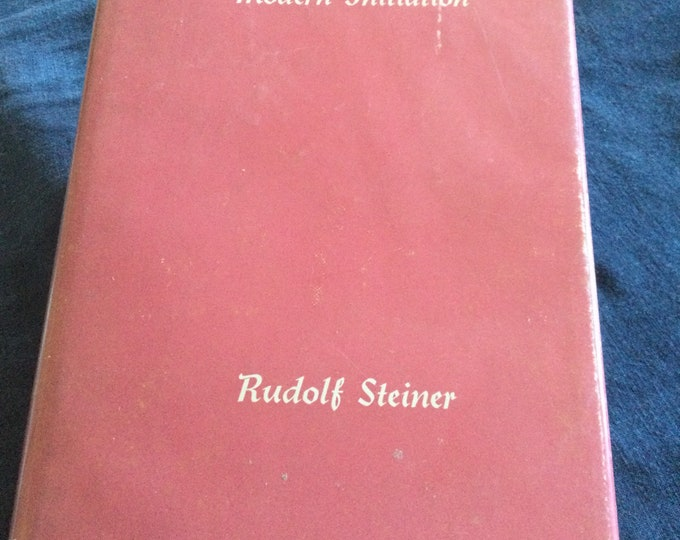 1965 Rosicrucianism and Modern Initiation, astrology, Christian mystic, oddities, occult