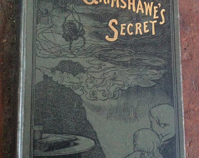 First edition, Nathaniel Hawthorne's Doctor Grimshawe's Secret, romance, supernatural, Salem, literature