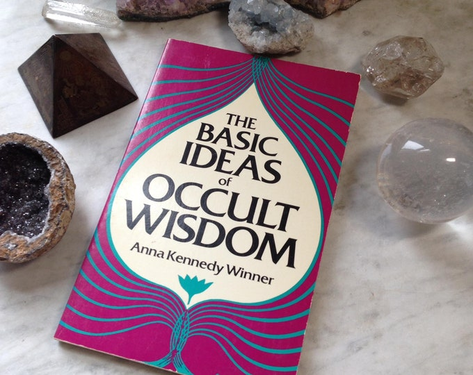 1982 The Basic Ideas of Occult Wisdom, zodiac, fortune telling, occult, magic