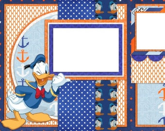 Donald - Digital Scrapbooking Quick Pages - INSTANT DOWNLOAD
