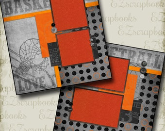 FIELD HOCKEY TITLE sports paper piecing 3D die cut for scrapbook page by  Rhonda