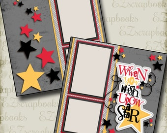 Premade Scrapbook Pages Rock On NPM EZ Layout 4347