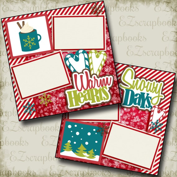 EZ Layout 4142 2 Premade Scrapbook Pages Sunshiny Day