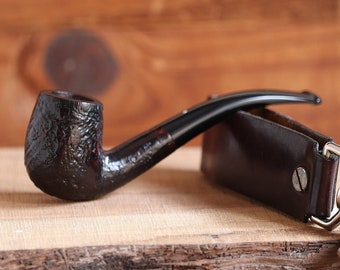 Very Rare 1960 Dunhill Shell Bent Billiard 6mm filter Pipe!