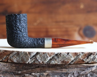 English Estate Pipe Buistd Rusticated Stack Dublin -- Almost Mint!