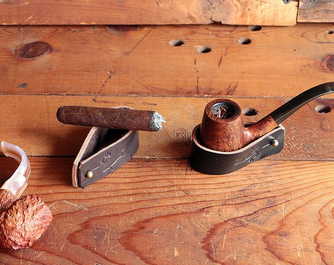 The Original Pipe & Cigar Rest - Personalized