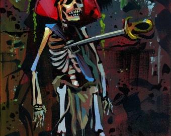 Stuck pirate