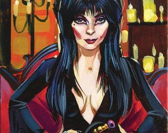 Elvira print by Shaunna Peterson