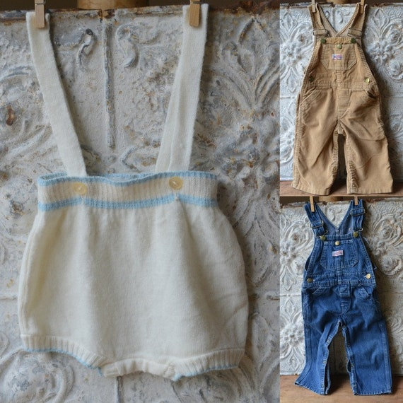 Vintage Set Of Three Baby Clothes Size 12-24 Month