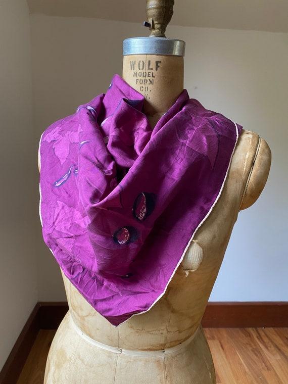 Collection of five vintage dress scarves, one pri… - image 3