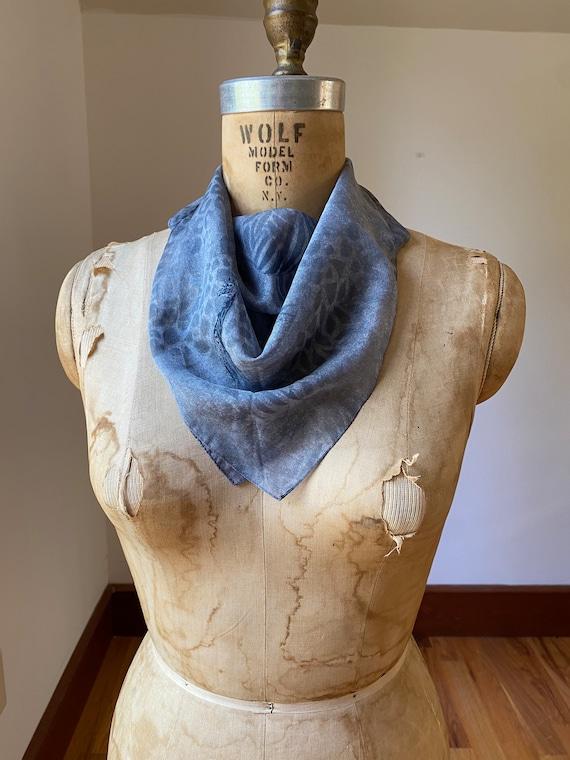 Collection of five vintage dress scarves, one pri… - image 6
